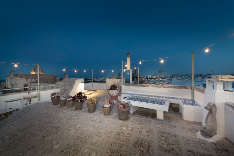 Torretta Alchimia design house in Puglia